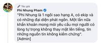 """Xuân Lan cùng ekip Phi Nhung gay gắt lên tiếng trước tin đồn về nữ ca sĩ: """"Chị Nhung không chết và cũng chưa ngồi dậy ăn cháo"""""""