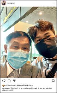 Trở về sau chuyến công tác ở Mỹ, Phillip Nguyễn tiết lộ về mối quan hệ hiện tại với bố là tỷ phú Johnathan Hạnh Nguyễn