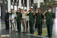 """Lễ tang """"Hùm xám đường số 4"""" - Trung tá Đặng Văn Việt"""