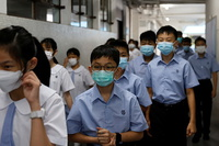 Đồng phục của học sinh Trung Quốc thử nghiệm gắn chip theo dõi