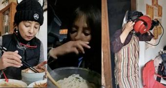 Sao phim ''Tiếu Ngạo Giang Hồ'' lộ cuộc sống khắc khổ, bị chế giễu vì lấy thức ăn thừa trong tiệc cưới mang về