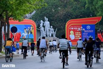 Hà Nội cho phép thể dục thể thao ngoài trời, cửa hàng quần áo được mở bán