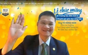 Công bố 3 trường học điển hình Microsoft đầu tiên ở Việt Nam