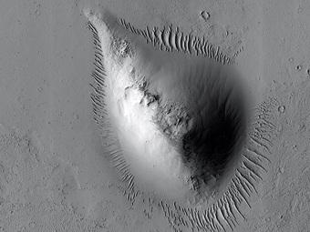 Thứ hình quả lê này là dấu hiệu của ''sự sống'' trên sao Hỏa