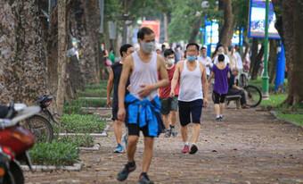 Hà Nội cho phép thể dục thể thao ngoài trời, mở cửa trung tâm thương mại từ 28/9