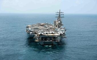 Nhóm tàu sân bay Mỹ trở lại Biển Đông