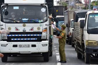 Bộ Giao thông chuyển Bộ Công an cấp mã QR cho xe vận tải hàng hóa