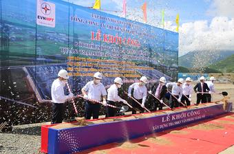 Phát động thi công dự án trạm biến áp 500 kV Vân Phong và đấu nối