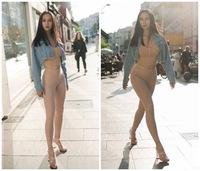 Người đẹp Việt mê quần tập có thiết kế lạ mắt