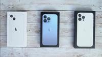 Cận cảnh đập hộp iPhone 13, iPhone 13 Pro và iPhone 13 Pro Max