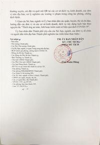 HỎA TỐC: Hà Nội cho phép người dân tập thể dục, mở cửa TTTM