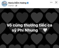 Nghệ sĩ Việt xót xa không nói nên lời khi hay tin Phi Nhung qua đời
