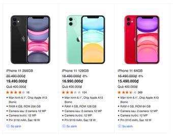 """iPhone 11 đang giảm giá cực mạnh, còn đợi gì mà không """"chốt đơn"""" ngay và luôn?"""
