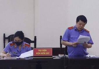 VKS đề nghị không chấp nhận việc 'bồi thường thay' cho Trịnh Xuân Thanh