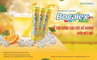 Viên sủi Bocalex Multi - thực phẩm hỗ trợ nâng cao sức đề kháng cho cơ thể