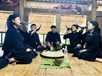 Lễ mừng cơm mới của đồng bào các dân tộc thiểu số vùng cao Hà Giang