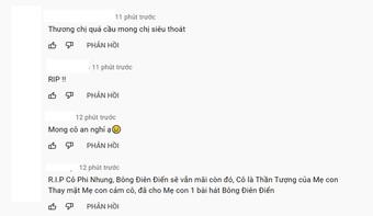 """Netizen tràn vào MV Bông Điên Điển để tạm biệt cố nghệ sĩ Phi Nhung: """"Vậy là chị đã mãi mãi ra đi rồi sao?"""""""