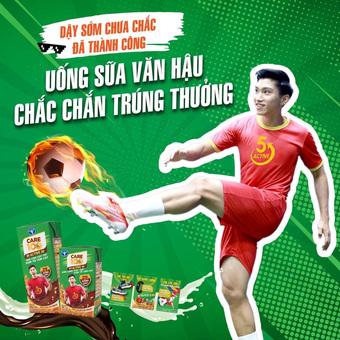 """""""Uống sữa Văn Hậu..."""" câu slogan của một hãng sữa khiến nhiều cộng đồng mạng tranh cãi"""