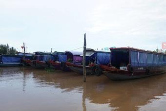 Nhiều chủ thuyền du lịch ở Cần Thơ sống lay lắt mong dịch Covid qua mau