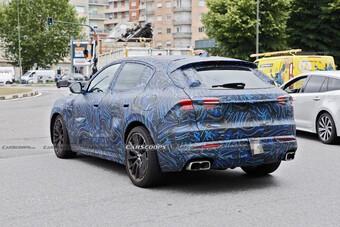 SUV cỡ nhỏ Maserati Grecale xuất hiện trước ngày ra mắt
