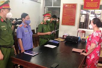 Bắt nữ doanh nhân trong vụ bán sỉ 262 lô đất ở Phú Yên