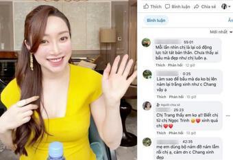 Bà xã Chi Bảo tiết lộ bí quyết da đẹp, dáng chuẩn khi mang bầu 6 tháng