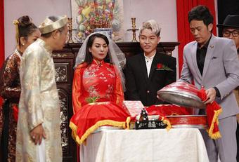 """Lần duy nhất Phi Nhung mặc áo cưới là với """"chú rể"""" kém 24 tuổi, có cả sự chứng kiến của NSƯT Hoài Linh!"""