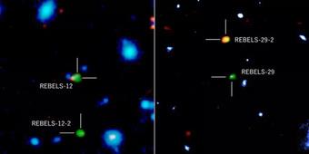 """Ngoạn mục thiên hà """"vượt thời gian"""", hiện về từ quá khứ 13 tỉ năm trước"""