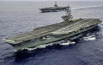 Mỹ điều nhóm tàu sân bay tiến vào Biển Đông