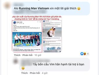 """Thành viên ekip Running Man Vietnam chửi khán giả là """"chó"""", phía sản xuất lại có phản ứng gây thất vọng thế này"""