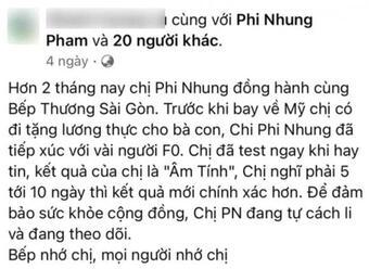 Dòng trạng thái cuối cùng Phi Nhung chia sẻ trước khi qua đời: Lời xin lỗi đẫm nước mắt!