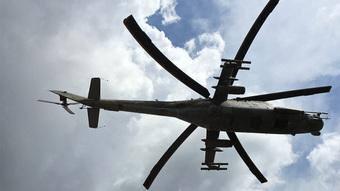 Hai trực thăng Nga bị phe cánh Thổ Nhĩ Kỹ tấn công ở Syria