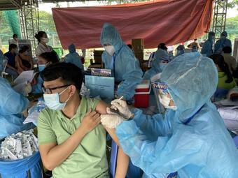 Tiêm vaccine phòng COVID-19 vượt 40 triệu liều
