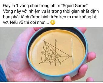 """Bước ra từ Squid game, thử thách tách kẹo đường """"gây bão"""" mạng xã hội"""