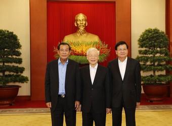 Thúc đẩy quan hệ truyền thống, đoàn kết, gắn bó Việt Nam - Campuchia - Lào