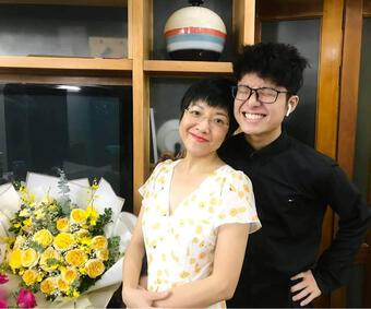 Thảo Vân hào hứng tham gia công cuộc 'cưa gái' của con trai