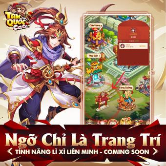 """Tam Quốc Ca Ca tung Big Update 2.0 """"Đại Chiến Xích Bích"""", tặng Giftcode giới hạn cho game thủ"""