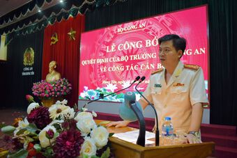 Giám đốc Công an tỉnh Thái Bình được điều động làm Giám đốc Công an tỉnh Hưng Yên