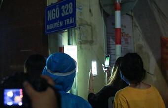 Hà Nội gỡ phong tỏa ổ dịch ngõ 328 Thanh Xuân Trung