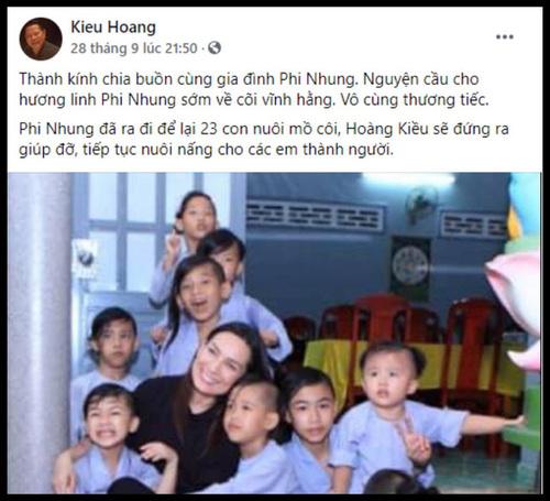Bà chủ Đại Nam xin 10 triệu đô và góp ý chân thành đến tỷ phú Hoàng Kiều nếu nhận nuôi những đứa con của cố ca sĩ Phi Nhung