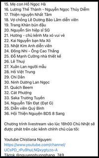 """Quản lý của bà Phương Hằng đăng loạt danh sách trong drama """"Giải ăn chặn mở rộng"""", hàng loạt nghệ sĩ, người nổi tiếng được gọi tên"""