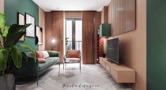 Phong cách Color block cho căn hộ nhỏ – phá tan sự tẻ nhạt của cuộc sống