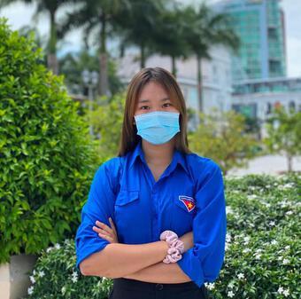 Cô gái Bến Tre 4 tháng hỗ trợ nơi tuyến đầu chống dịch