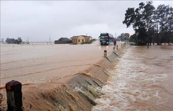 Quảng Trị đề phòng và chuẩn bị ứng phó với tình hình mưa lũ