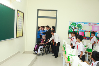 Khánh thành trường tiểu học Long Khánh A3 - Điểm trường cô giáo Phan Thị Nhế