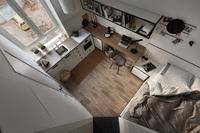 Căn hộ vỏn vẹn 17,3m² này sẽ chứng minh cho bạn thấy ở nhà nhỏ vẫn tuyệt như nhà to