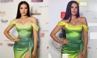 Trước thềm tham dự Miss Universe 2021, Kim Duyên lại bị soi body kém thon, đặc biệt vòng eo ''bánh mì'' trông phát ngán