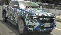 Ford Ranger hoàn toàn mới trông giống Maverick