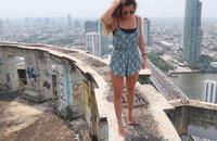 Lạnh gáy với tòa tháp ma bỏ hoang ở Thái Lan