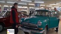 Chiêm ngưỡng bảo tàng xe hơi cổ tại Nga